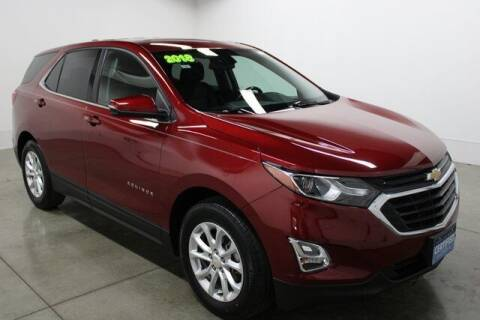 2018 Chevrolet Equinox for sale at Bob Clapper Automotive, Inc in Janesville WI