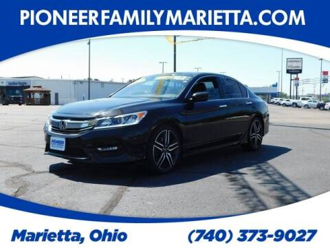 2017 Honda Accord for sale at Pioneer Family preowned autos in Williamstown WV