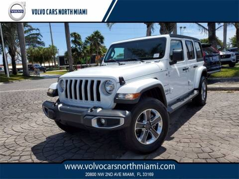 2018 Jeep Wrangler Unlimited for sale at Volvo Cars North Miami in Miami FL