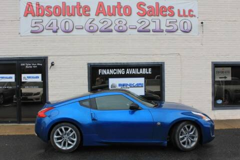 2013 Nissan 370Z for sale at Absolute Auto Sales in Fredericksburg VA