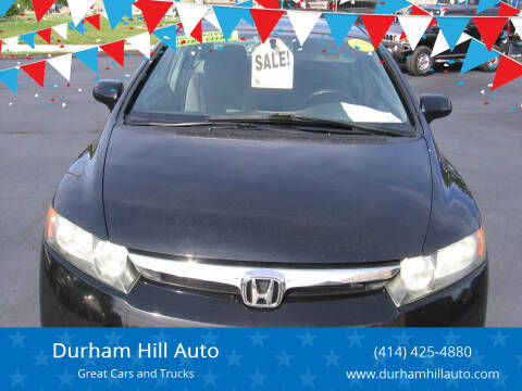 2008 Honda Civic for sale at Durham Hill Auto in Muskego WI