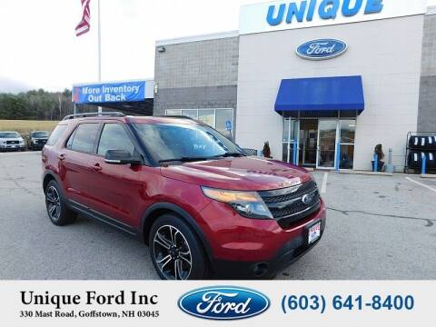 2015 Ford Explorer for sale at Unique Motors of Chicopee - Unique Ford in Goffstown NH