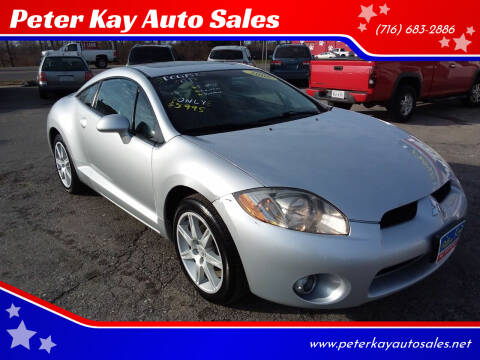 2006 Mitsubishi Eclipse for sale at Peter Kay Auto Sales in Alden NY