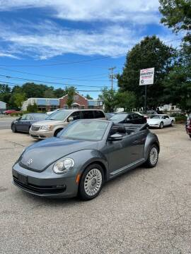 2013 Volkswagen Beetle Convertible for sale at NEWFOUND MOTORS INC in Seabrook NH