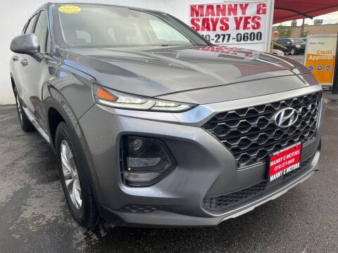 2019 Hyundai Santa Fe for sale at Manny G Motors in San Antonio TX