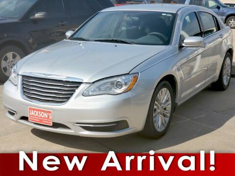 2012 Chrysler 200 for sale at Jacksons Car Corner Inc in Hastings NE