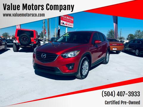 2016 Mazda CX-5 for sale at Value Motors Company in Marrero LA