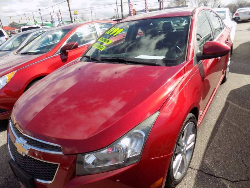 2013 Chevrolet Cruze for sale at Pro-Motion Motor Co in Lincolnton NC