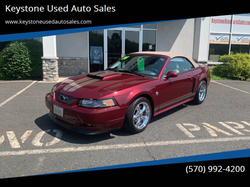 2004 Ford Mustang for sale at Keystone Used Auto Sales in Brodheadsville PA