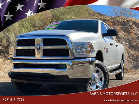 2015 RAM Ram Pickup 2500 for sale at Baba's Motorsports, LLC in Phoenix AZ