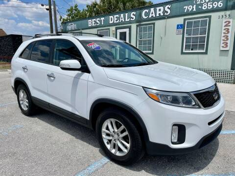 2014 Kia Sorento for sale at Best Deals Cars Inc in Fort Myers FL