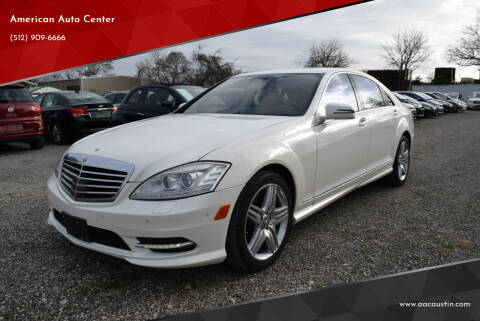 2013 Mercedes-Benz S-Class for sale at American Auto Center in Austin TX