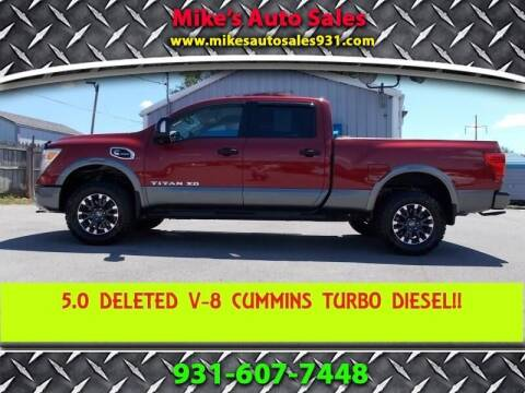 2017 Nissan Titan XD for sale at Mike's Auto Sales in Shelbyville TN