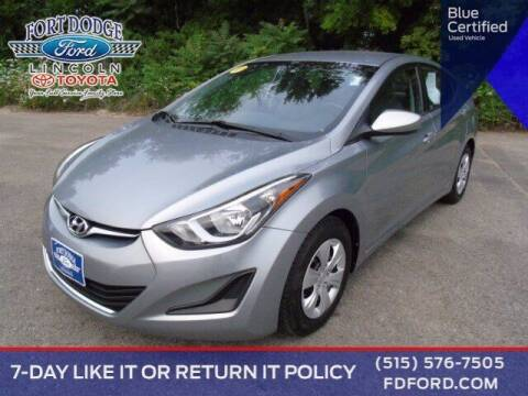 2016 Hyundai Elantra for sale at Fort Dodge Ford Lincoln Toyota in Fort Dodge IA