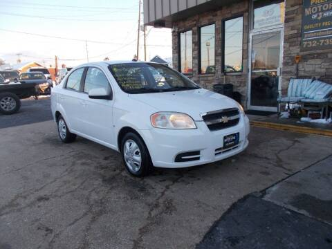 2009 Chevrolet Aveo for sale at Preferred Motor Cars of New Jersey in Keyport NJ