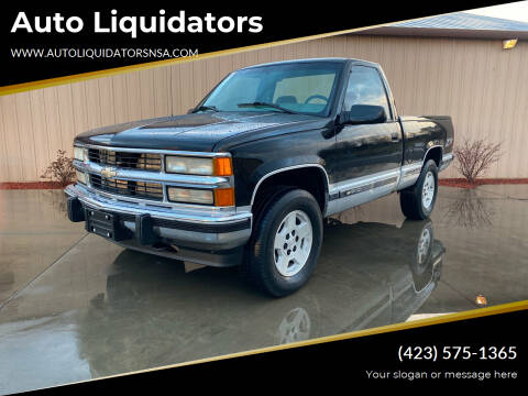 1995 Chevrolet C/K 1500 Series for sale at Auto Liquidators in Bluff City TN