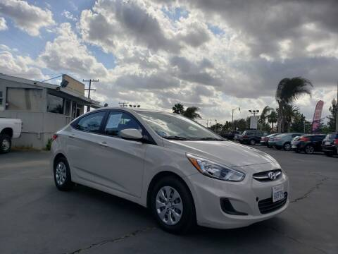 2016 Hyundai Accent for sale at First Shift Auto in Ontario CA