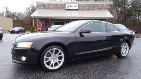2010 Audi A5 for sale at Driven Pre-Owned in Lenoir NC