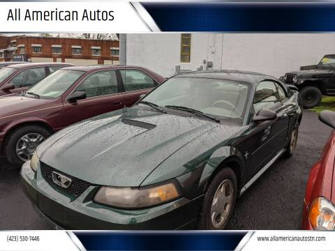 2001 Ford Mustang for sale at All American Autos in Kingsport TN