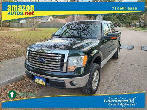 2012 Ford F-150 for sale at Amazon Autos in Houston TX