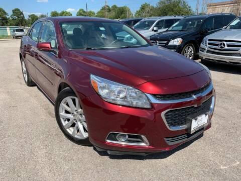2015 Chevrolet Malibu for sale at KAYALAR MOTORS - ECUFAST HOUSTON in Houston TX