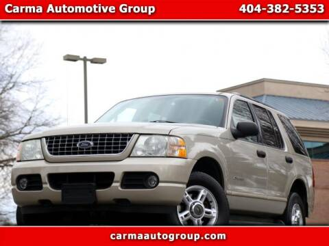 2004 Ford Explorer for sale at Carma Auto Group in Duluth GA