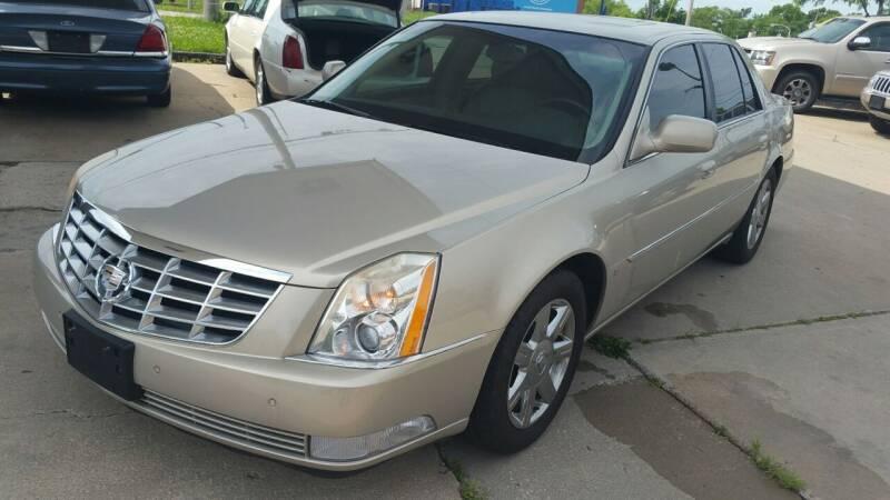 2007 Cadillac DTS for sale at Alpha Motors in Kansas City MO