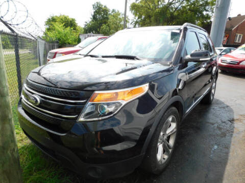 2014 Ford Explorer for sale at WOOD MOTOR COMPANY in Madison TN