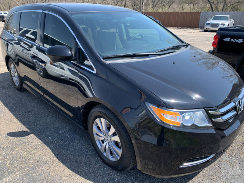 2015 Honda Odyssey for sale at Ol Mac Motors in Topeka KS