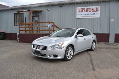 2012 Nissan Maxima for sale at Dave's Auto Sales in Winthrop MN