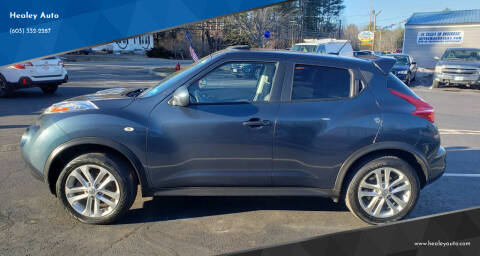 2013 Nissan JUKE for sale at Healey Auto in Rochester NH