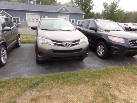 2013 Toyota RAV4 for sale at Pool Auto Sales Inc in Spencerport NY