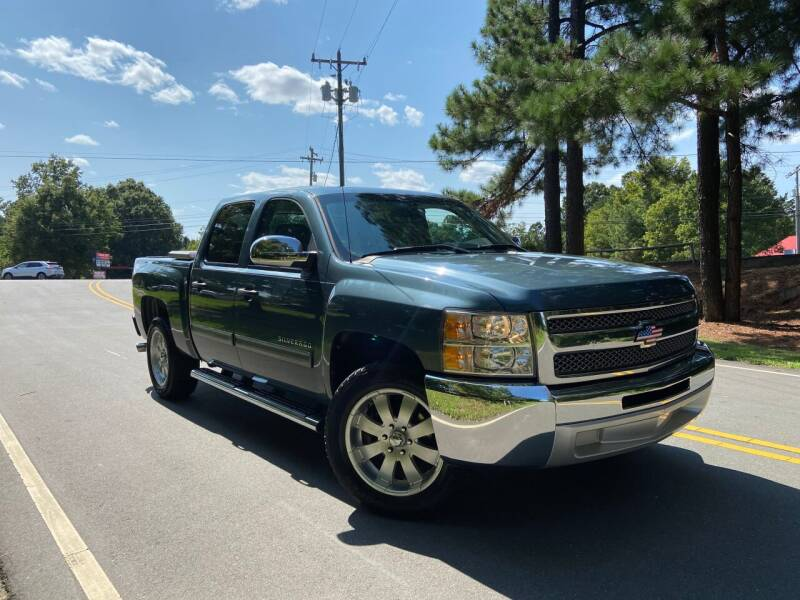 2012 Chevrolet Silverado 1500 for sale at THE AUTO FINDERS in Durham NC