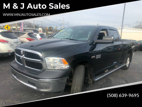 2015 RAM Ram Pickup 1500 for sale at M & J Auto Sales in Attleboro MA
