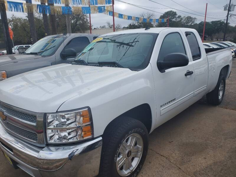 2013 Chevrolet Silverado 1500 for sale at Abel Motors, Inc. in Conroe TX