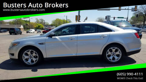 2011 Ford Taurus for sale at Busters Auto Brokers in Mitchell SD
