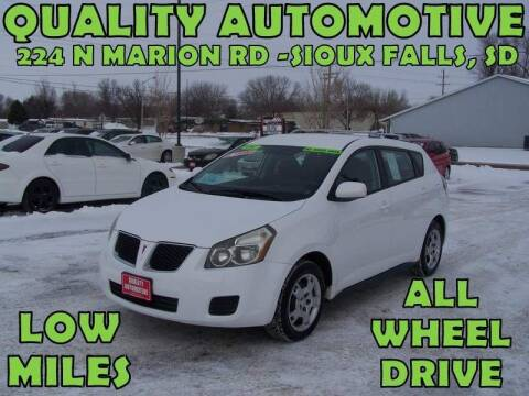 2009 Pontiac Vibe for sale at Quality Automotive in Sioux Falls SD