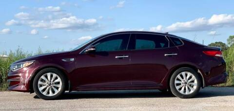 2016 Kia Optima for sale at Palmer Auto Sales in Rosenberg TX