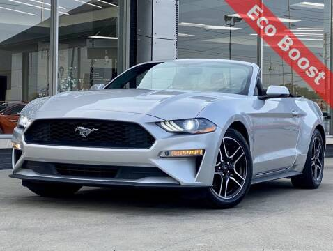 2019 Ford Mustang for sale at Carmel Motors in Indianapolis IN