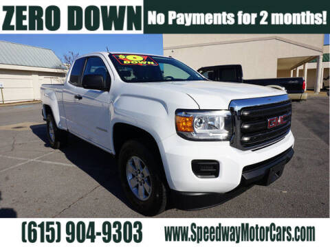 2016 GMC Canyon for sale at Speedway Motors in Murfreesboro TN