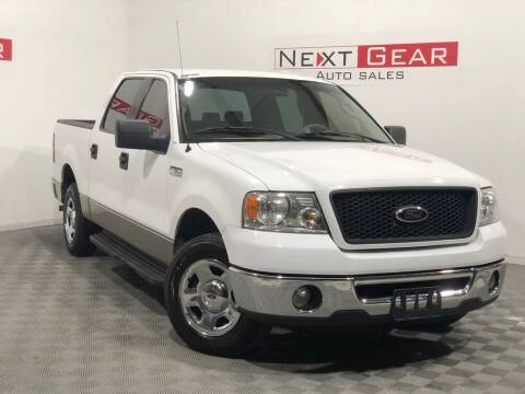 2006 Ford F-150 for sale at Next Gear Auto Sales in Westfield IN