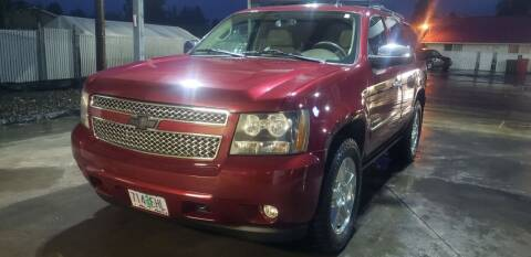 2009 Chevrolet Tahoe for sale at Select Cars & Trucks Inc in Hubbard OR