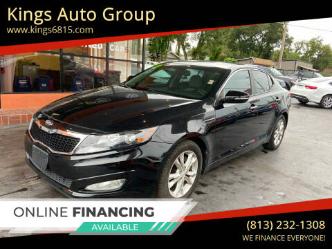 2012 Kia Optima for sale at Kings Auto Group in Tampa FL