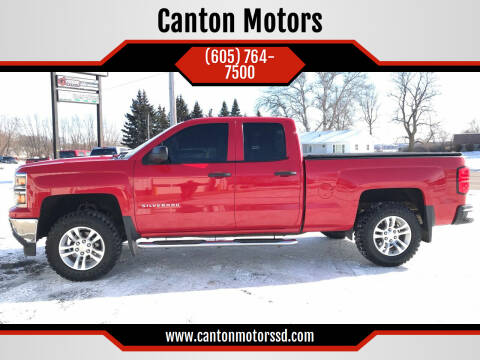 2014 Chevrolet Silverado 1500 for sale at Canton Motors in Canton SD