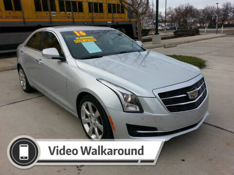 2016 Cadillac ATS for sale at Super Cars Sales Inc #1 in Oakdale CA