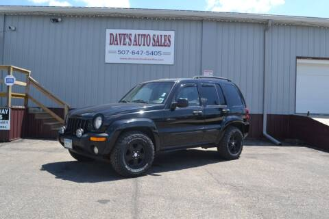 2003 Jeep Liberty for sale at Dave's Auto Sales in Winthrop MN