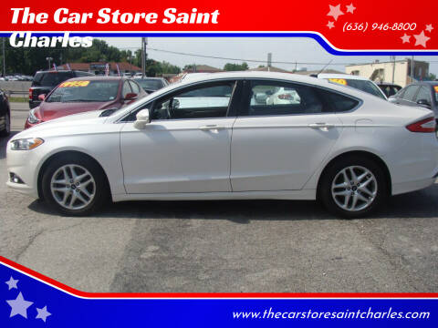 2014 Ford Fusion for sale at The Car Store Saint Charles in Saint Charles MO