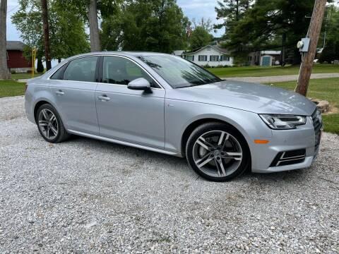 2018 Audi A4 for sale at Dussault Auto Sales in Saint Albans VT