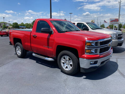 2014 Chevrolet Silverado 1500 for sale at McCully's Automotive - Trucks & SUV's in Benton KY