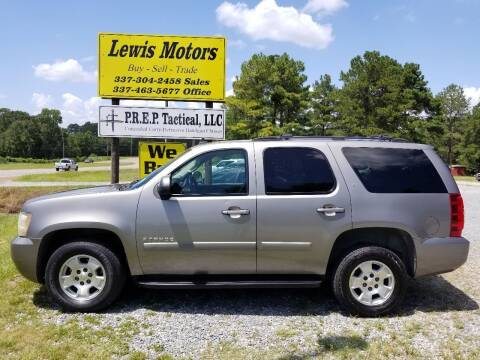 2007 Chevrolet Tahoe for sale at Lewis Motors LLC in Deridder LA